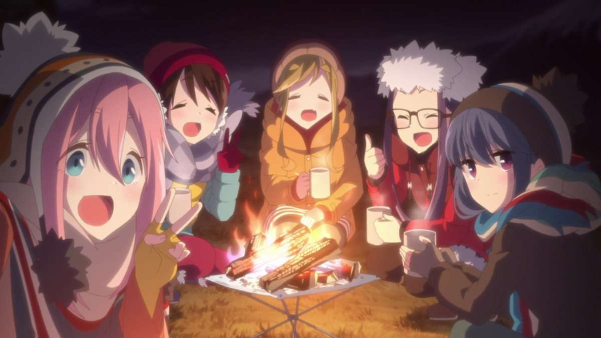 Laid-Back Camp returns this January!