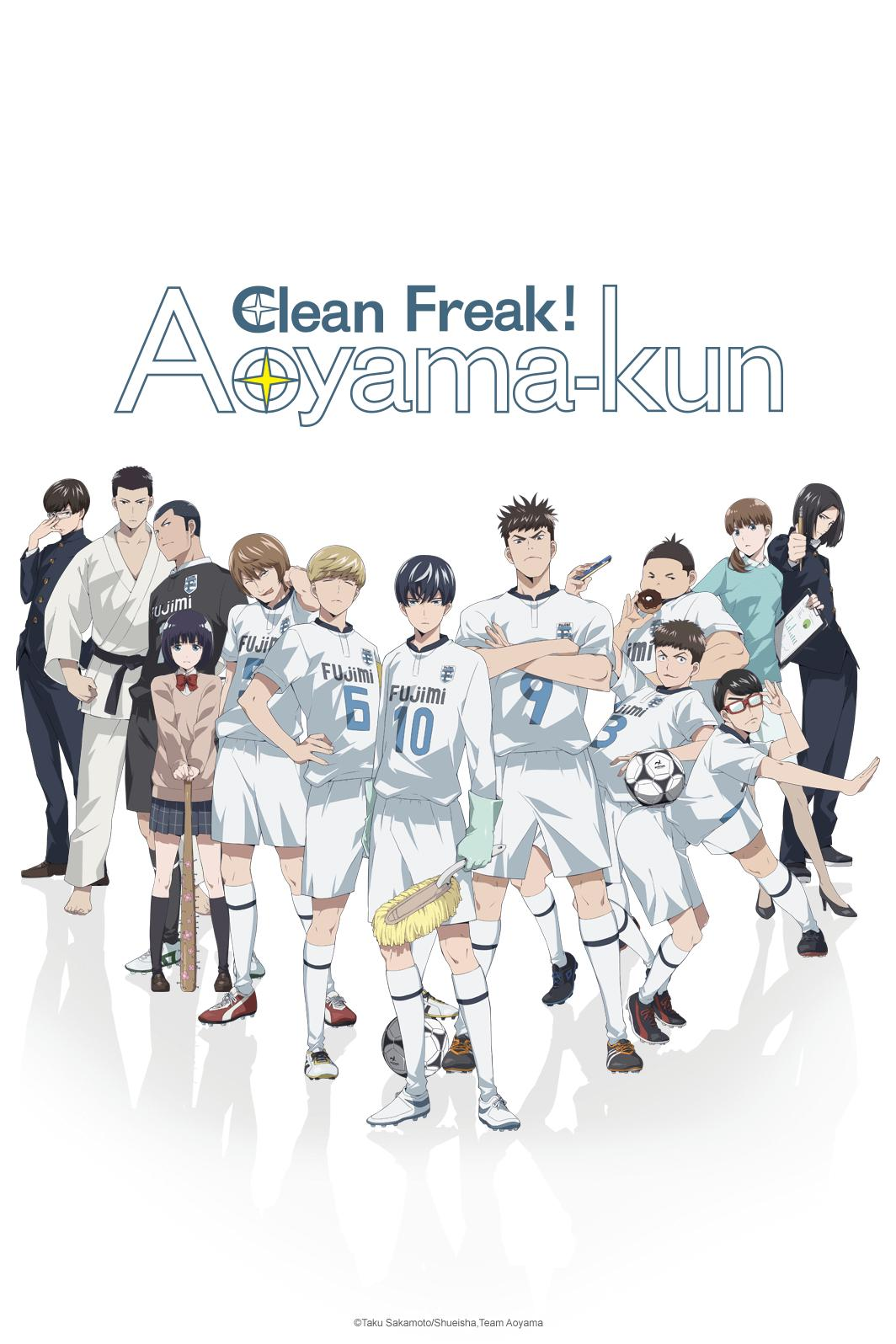 Image result for clean-freak crunchyroll