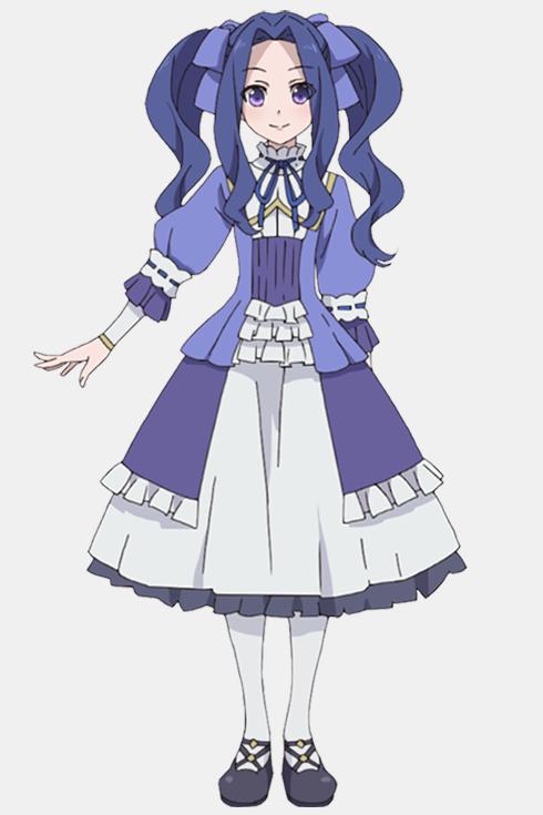 Le design de Melty, jeune demoiselle ayant des allures de fille de noble.