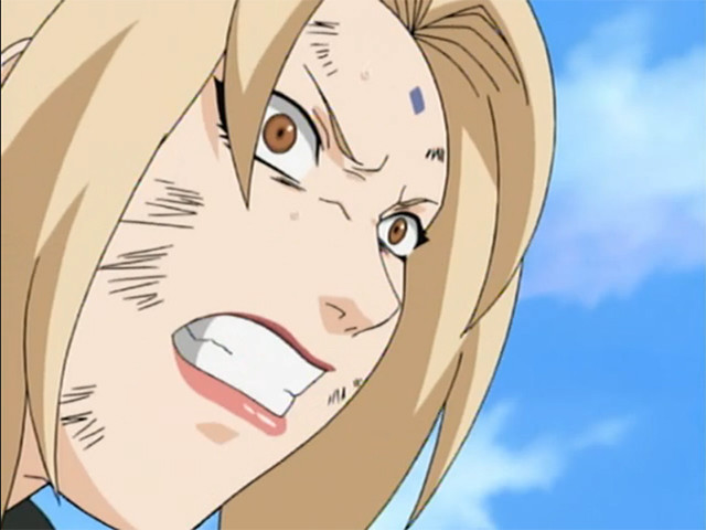 Tsunade does not like where this is going