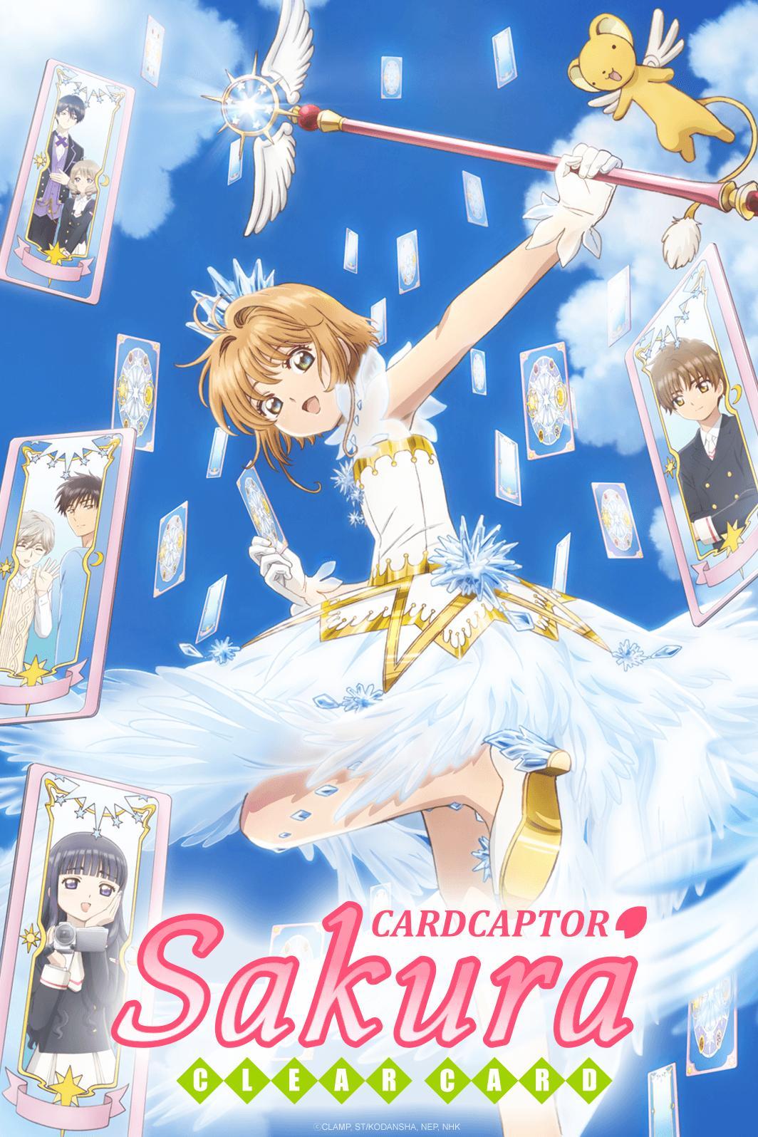 Cardcaptor Sakura Clear Card Watch On Crunchyroll