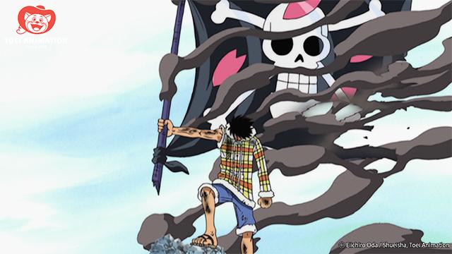 Luffy, una pieza