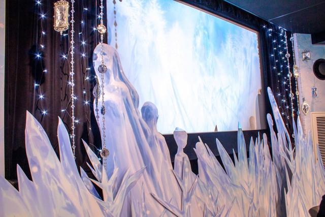 Re:Zero: The Frozen Bond Collaboration Cafe Icy Decor