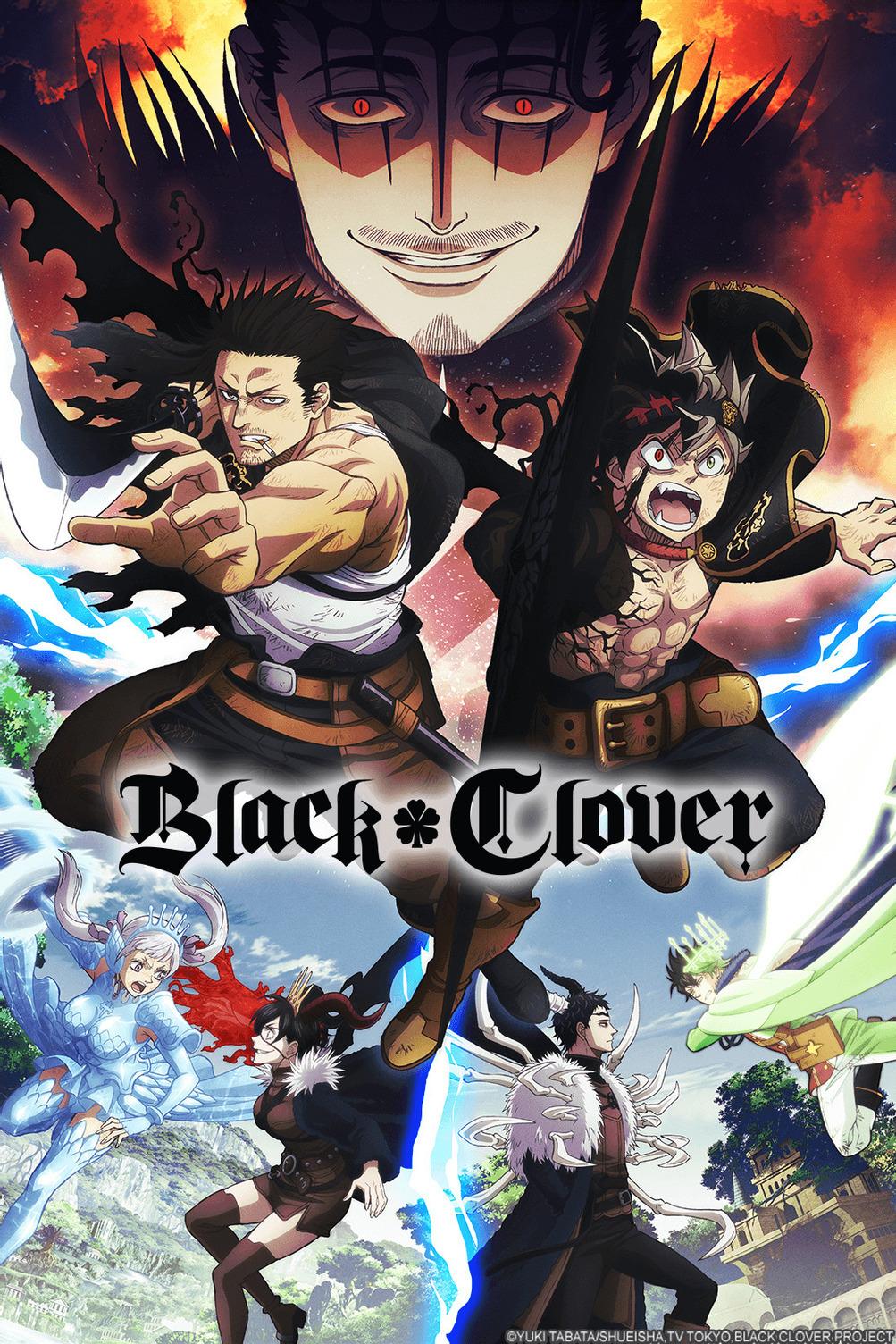 Black Clover Spade Kingdom key visual