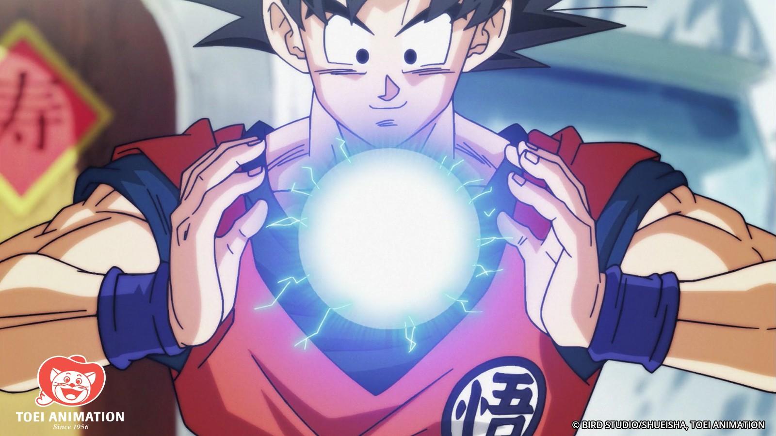 Goku Energy Orb Dragon Ball Super