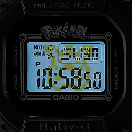 Pokémon x BABY-G watch
