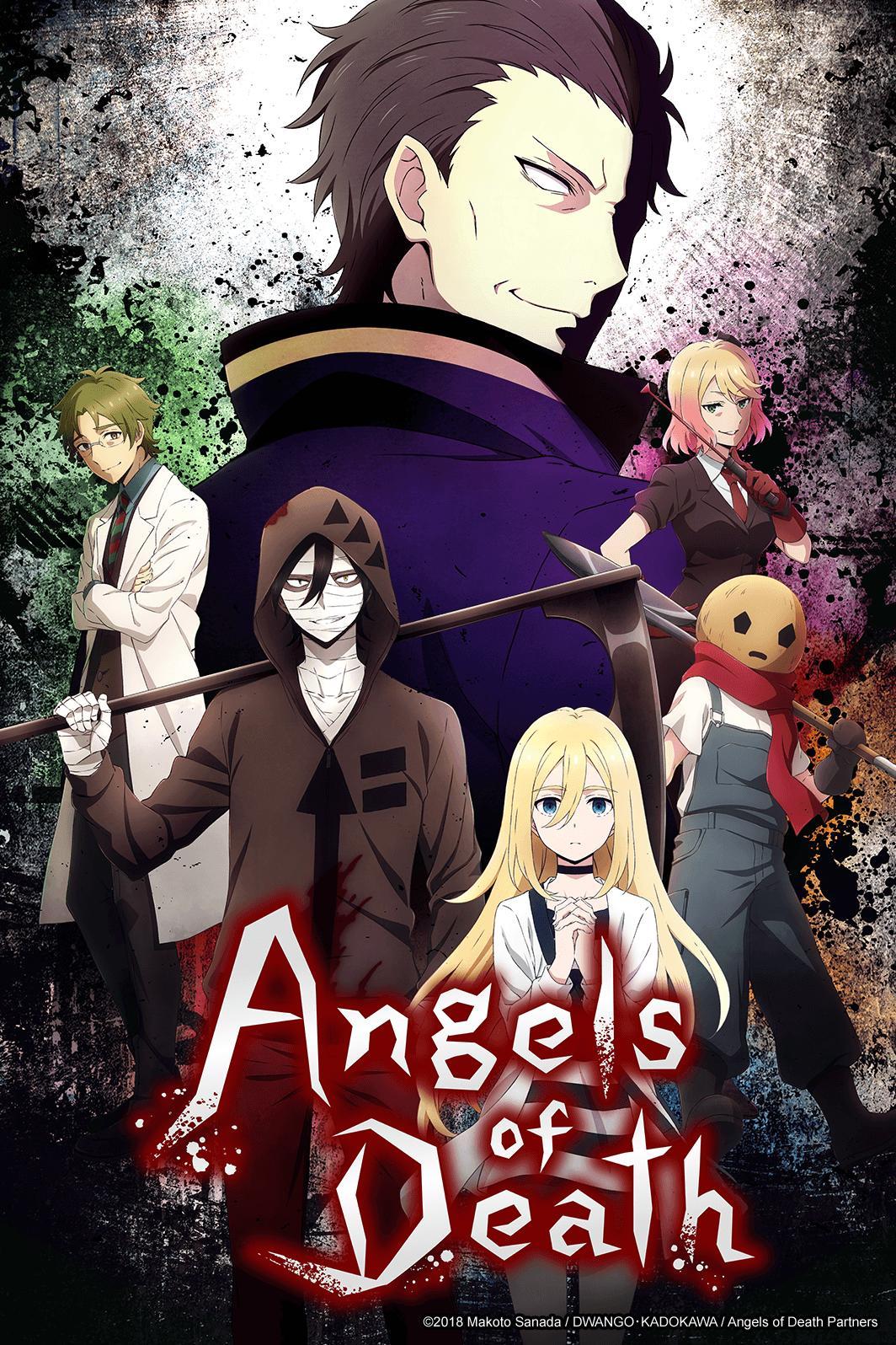 Angels of Death - Watch on Crunchyroll