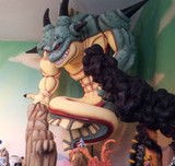 "This Insanely Detailed ""Dragon Ball Z"" Diorama Is More Impressive Than The Actual Frieza Battle"