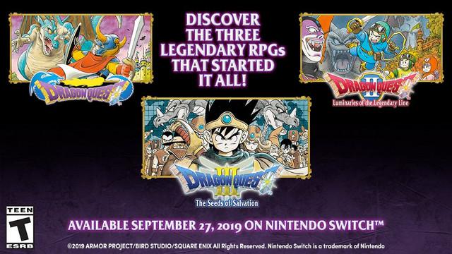 Dragon Quest I-III
