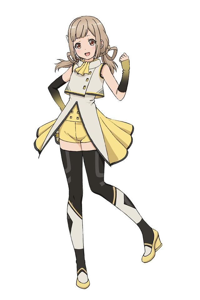A character setting of Fumio Chitose, aka