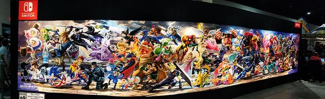Smash Bros. Ultimate Mural