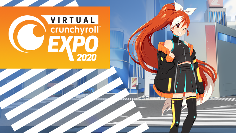 Expo virtual de Crunchyroll