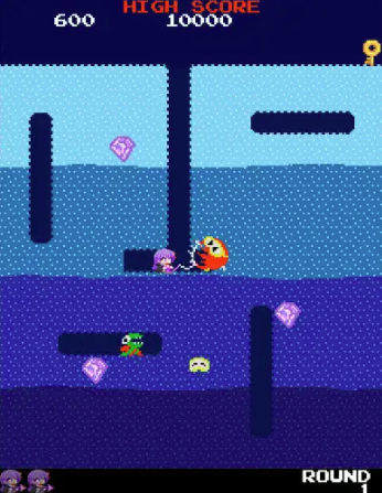 A screenshot of Dig Dug BB