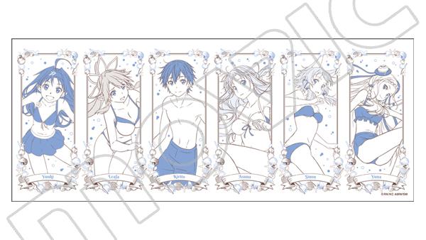 crunchyroll sword art online ladies cool off in cute summer merch