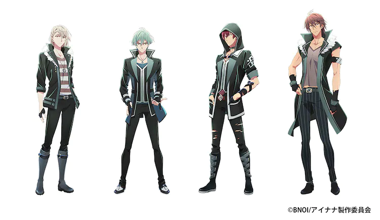 Character designs for ŹOOĻ