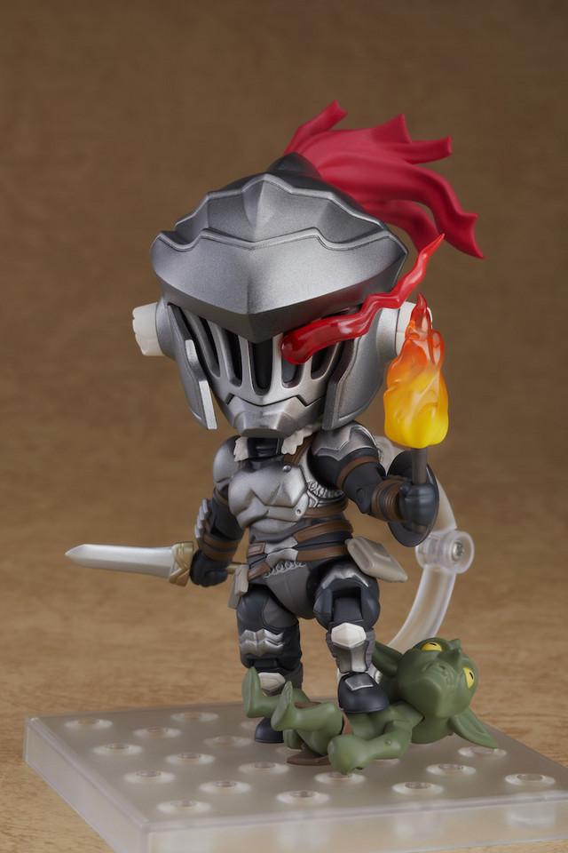 goblin slayer makes his debut as a nendoroid figure