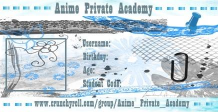 crunchyroll groups anime private academy