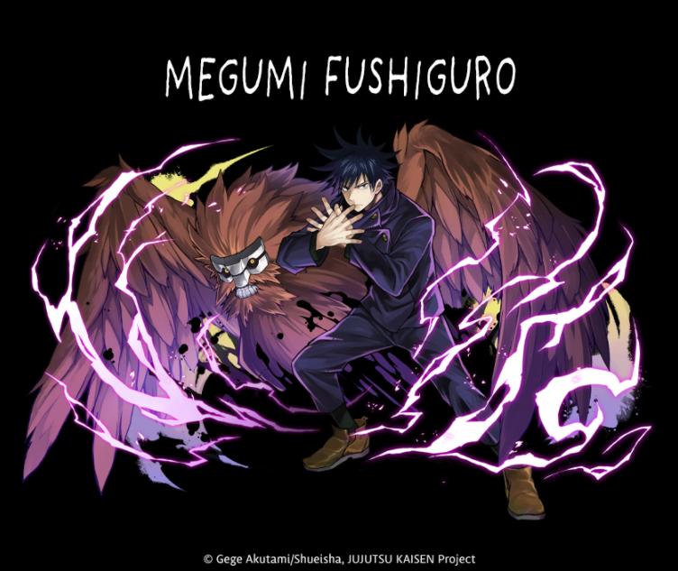 ★7 Megumi Fushiguro