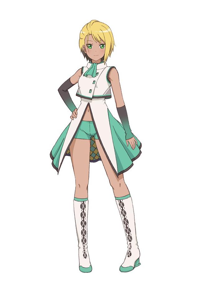 A character setting of Eri Yokosuka - aka