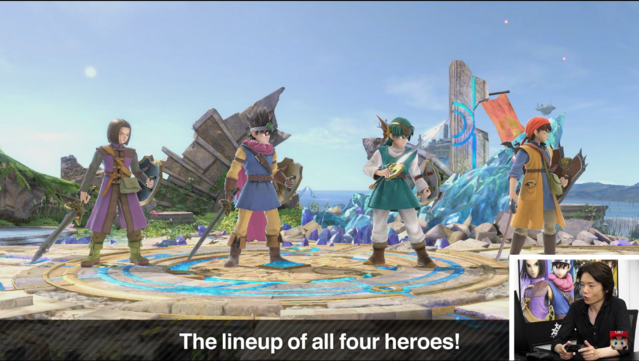 Crunchyroll - Dragon Quest's Hero Joins the Battle for Super Smash