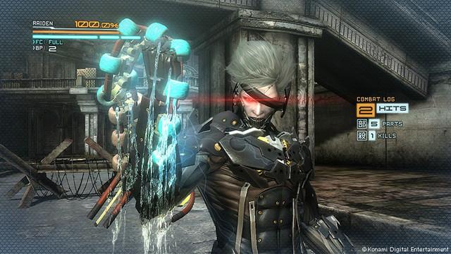 crunchyroll metal gear rising revengeance rendered