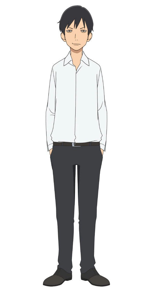 A character setting of Gorou Fukatsu, the advisor to the high school soccer club from the upcoming Farewell, My Dear Cramer TV anime.