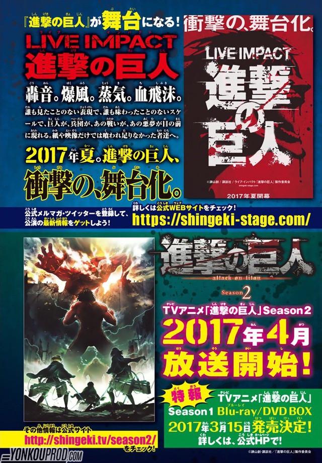 Nova temporada de Shingeki no Kyojin ganha mês de estreia