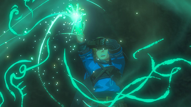 Link is overwhelmed by a burst of magical energy in the trailer to the sequel to The Legend of Zelda: Breath of the Wild.