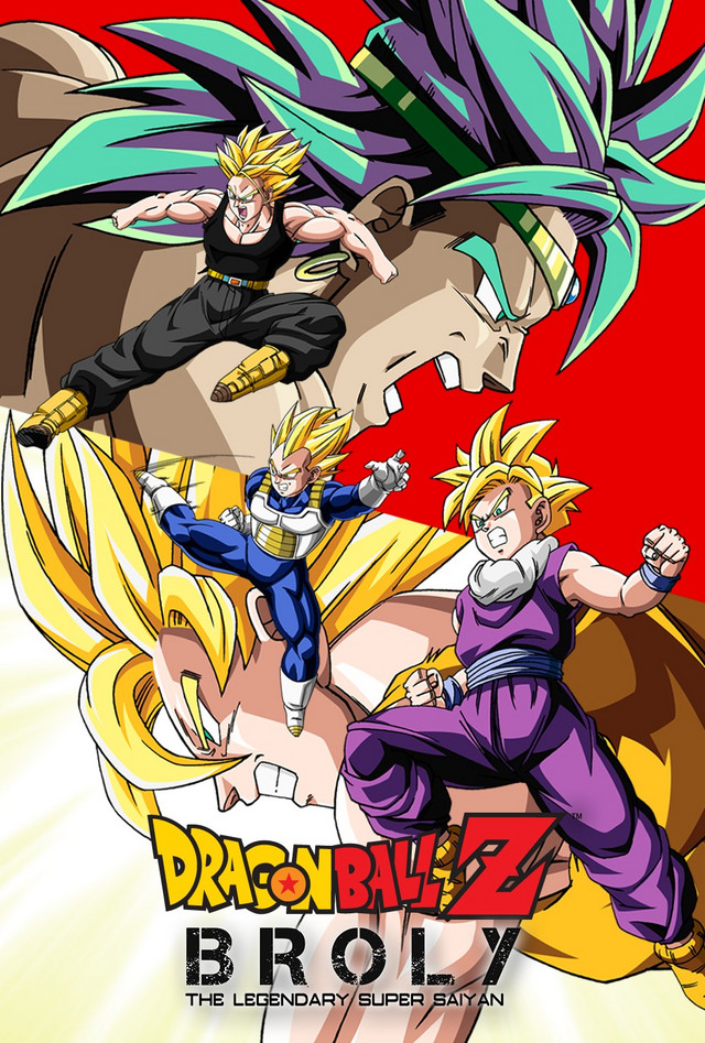 Broly A Powerful Saiyan Warrior With An Unspeakable Evil Streak Has Goku Vegeta And Friends Squarely In His Sights Now Race To Save The Universe