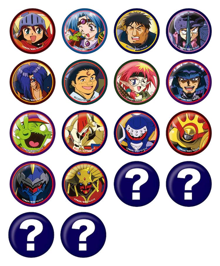 Ryu Knight: Pinback Buttons