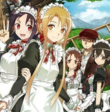 """Sword Art Online - Code Register"" Introduces More Designs - Including Maid Kirito!"