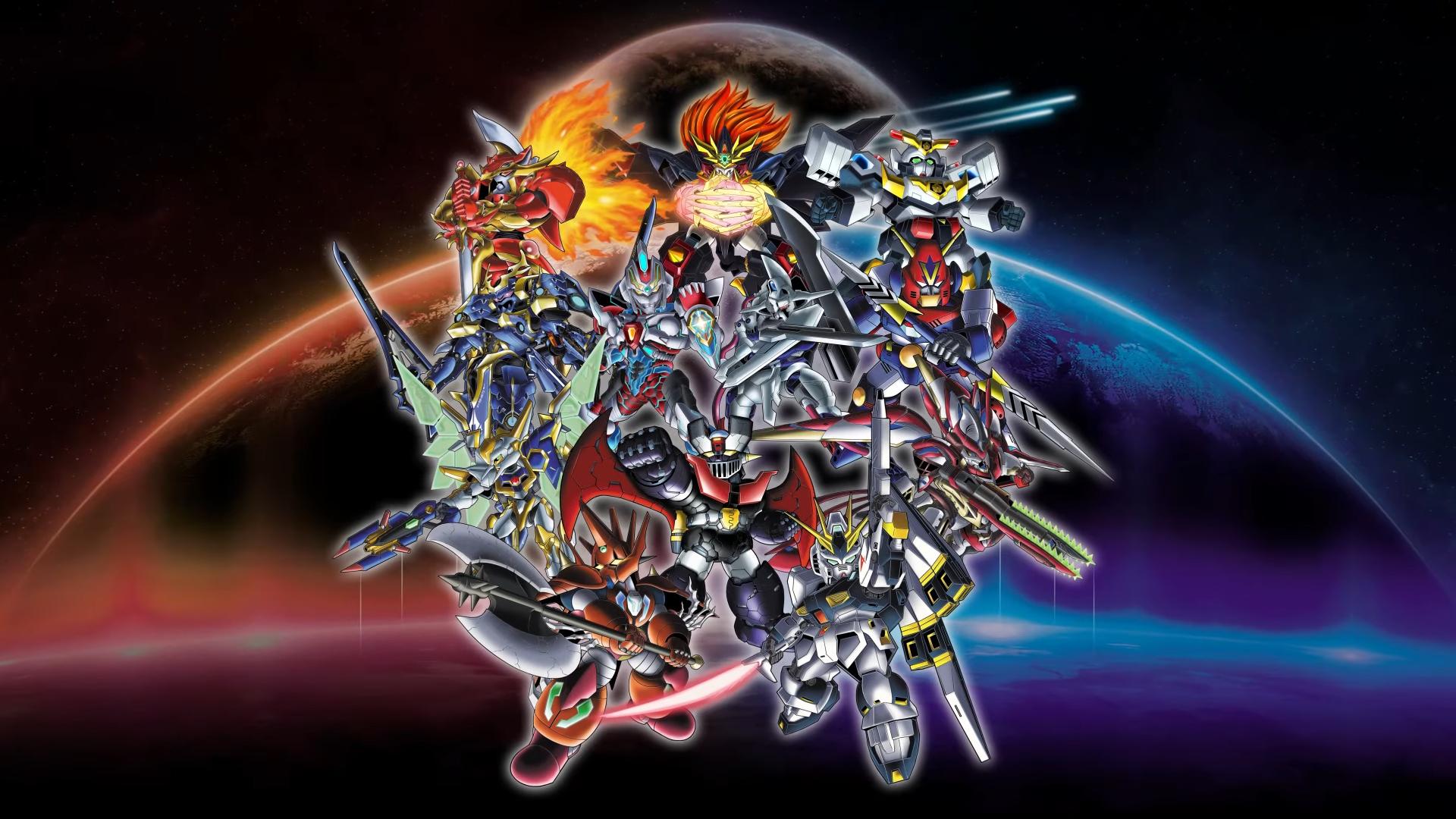 Super Robot Wars 30 lineup