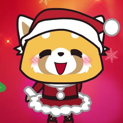 Aggretsuko Christmas.Crunchyroll Aggretsuko Anime Wishes You A Metal Christmas