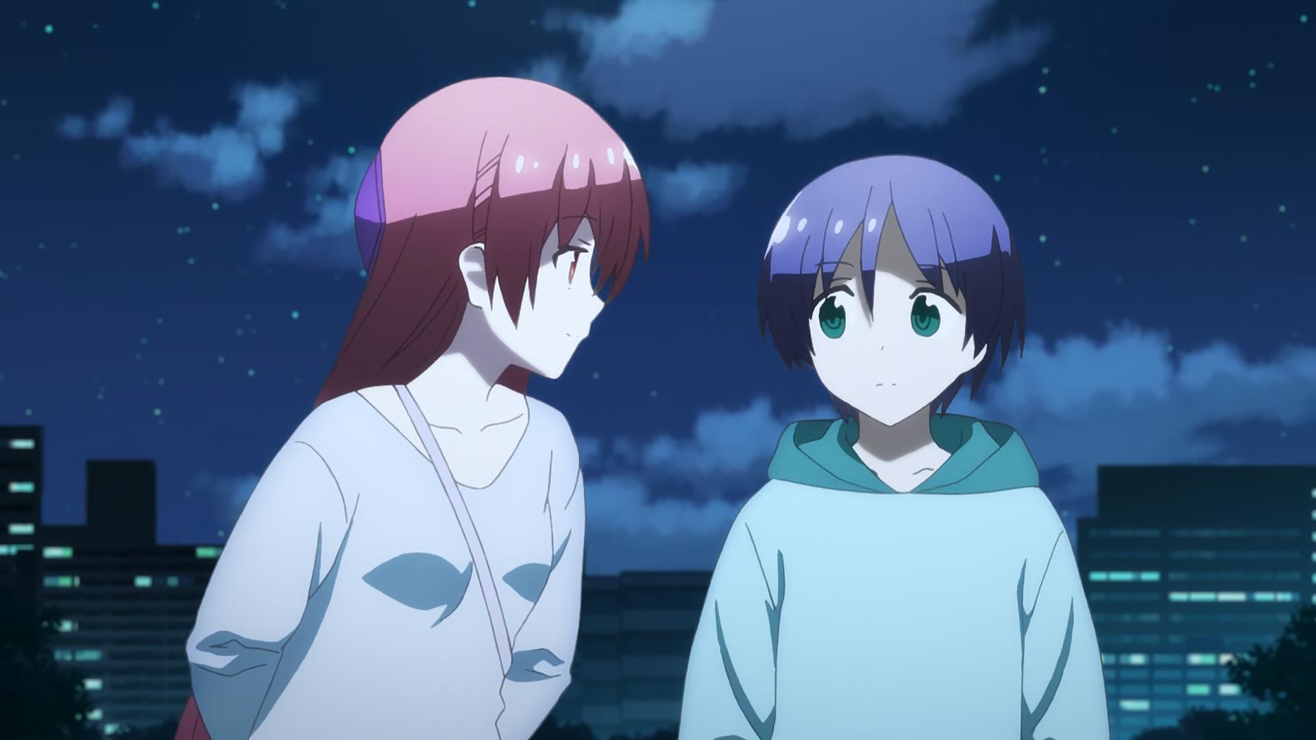 Tsukasa y Nasa son como una pareja, TONIKAWA