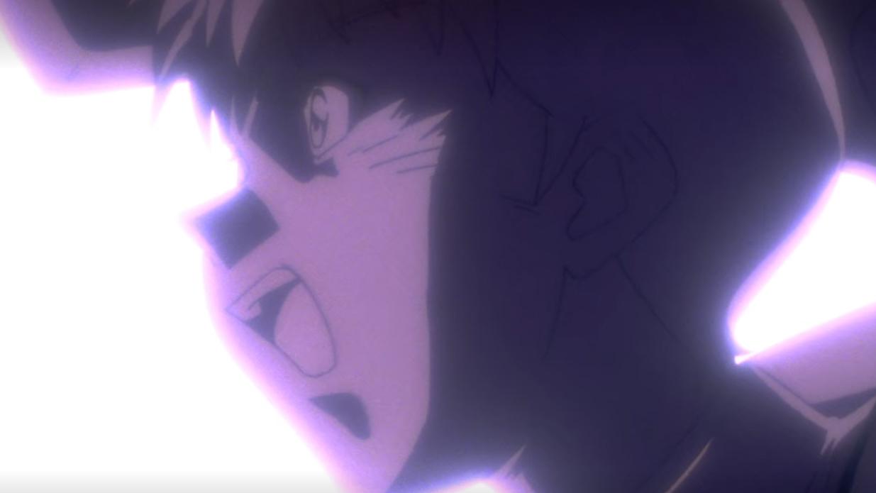 Shinji prepares to attack