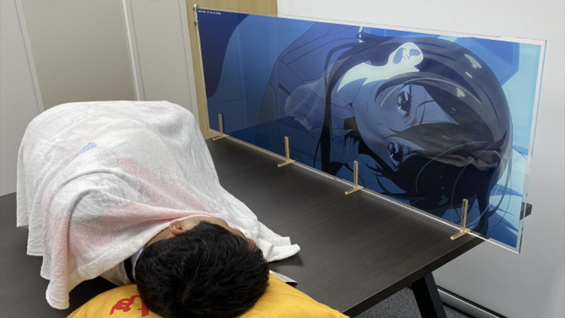 Rent-a-Girlfriend Chizuru sleeping