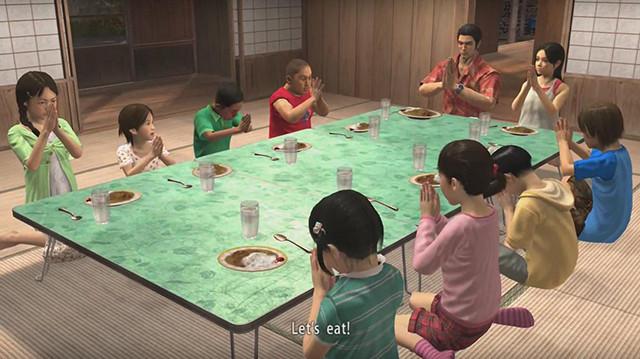 Thank you, Sega, for this delicious Yakuza feast