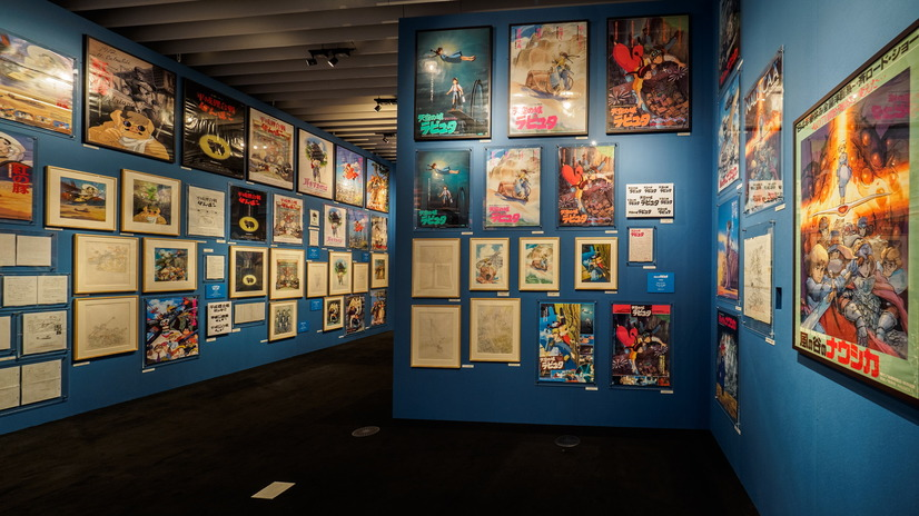 Ghibli Expo posters`