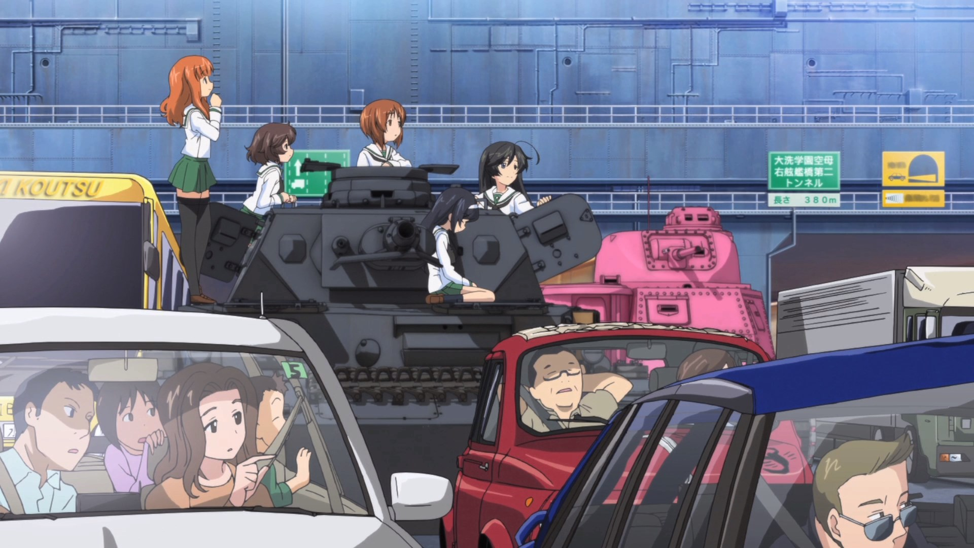 Chicas und Panzer