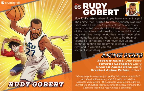 Rudy Gobert Player Card