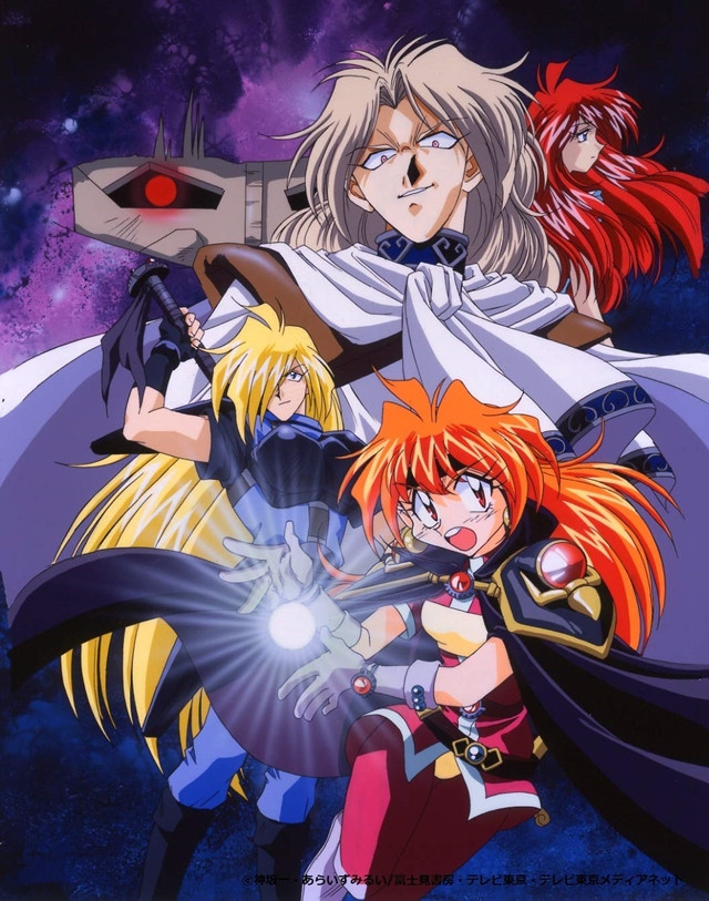 Crunchyroll - TV Anime Slayers' First Three Series to Get ...