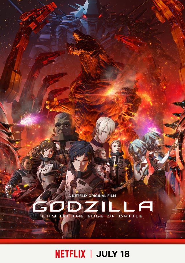 Godzilla Anime 2