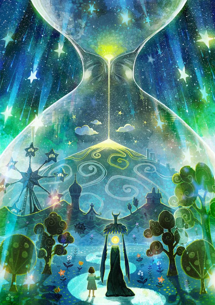 Visual clave del mundo nocturno