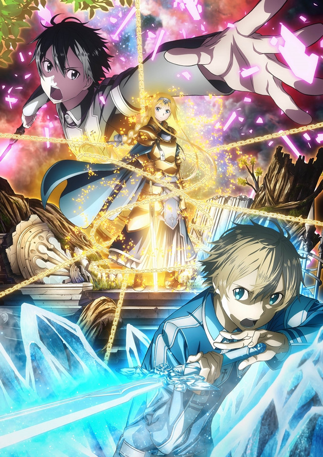 Image result for sword art online alicization anime