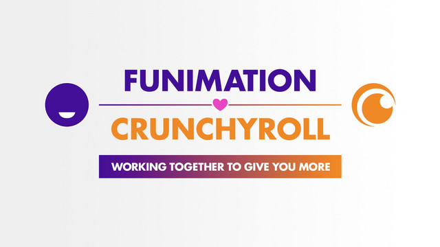 Funimation and Crunchyroll, sitting in a tree...