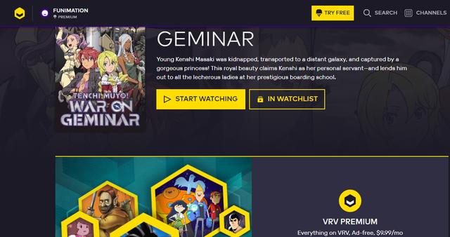 Crunchyroll - Forum - VRV missing content