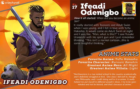 Tarjeta de jugador Ifeadi Odenigbo