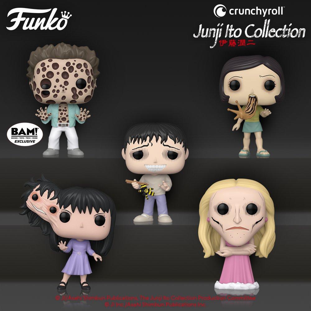 Funko Pop! Junji Ito line