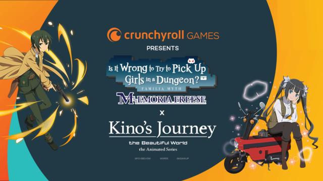 Crunchyroll - The Authors of DanMachi & Kino's Journey