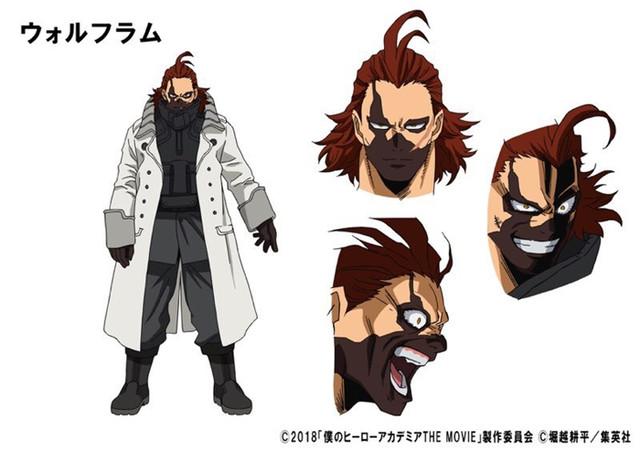 Wolfram - Boku No Hero Academia the Movie